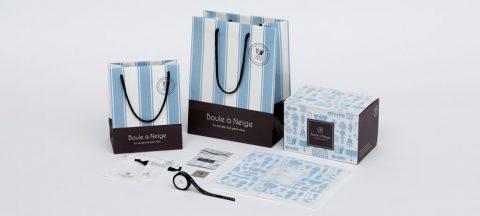 総合ファッションサービスグループ、ワールドグループの雑貨ブランド「Boule a Neige(ブールアネージュ)」のアプリケーションツール、グラフィックデザイン画像
