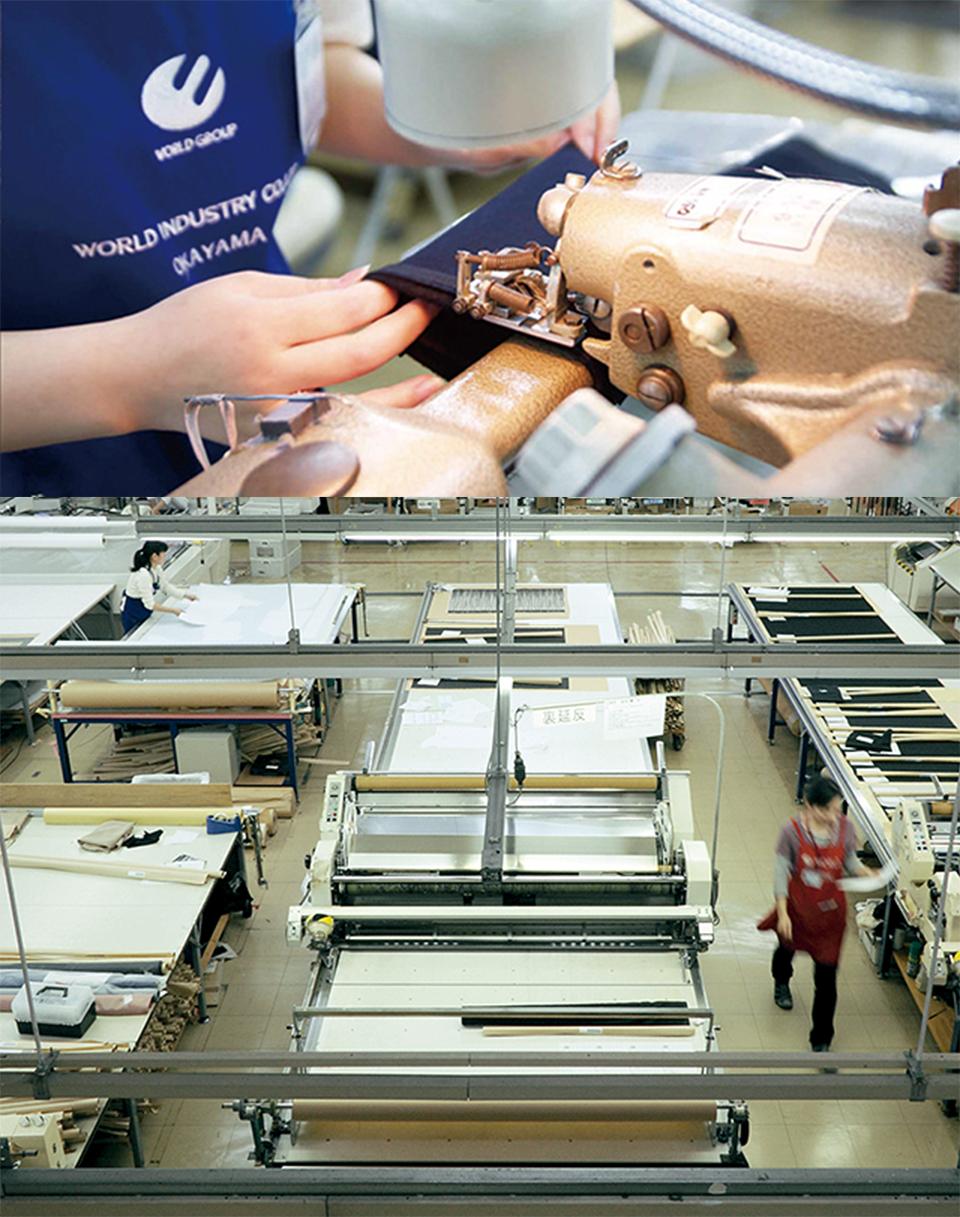 総合ファッションアパレル企業、株式会社ワールドのBtoBサイト、ワールドプラットフォームサービスのメインビジュアル画像09