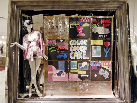 伊勢丹新宿店本館3階フロア、ザ・ステージで展開するポップアップ・ストア「PRIDE AND JOY」featuring Chiyono Anne, EVA & LUGHAのVMD、ディスプレイ画像