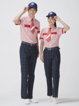 株式会社よみうりランドが運営する遊園地、よみうりランド「グッジョバ !!」の制服、ユニフォーム画像