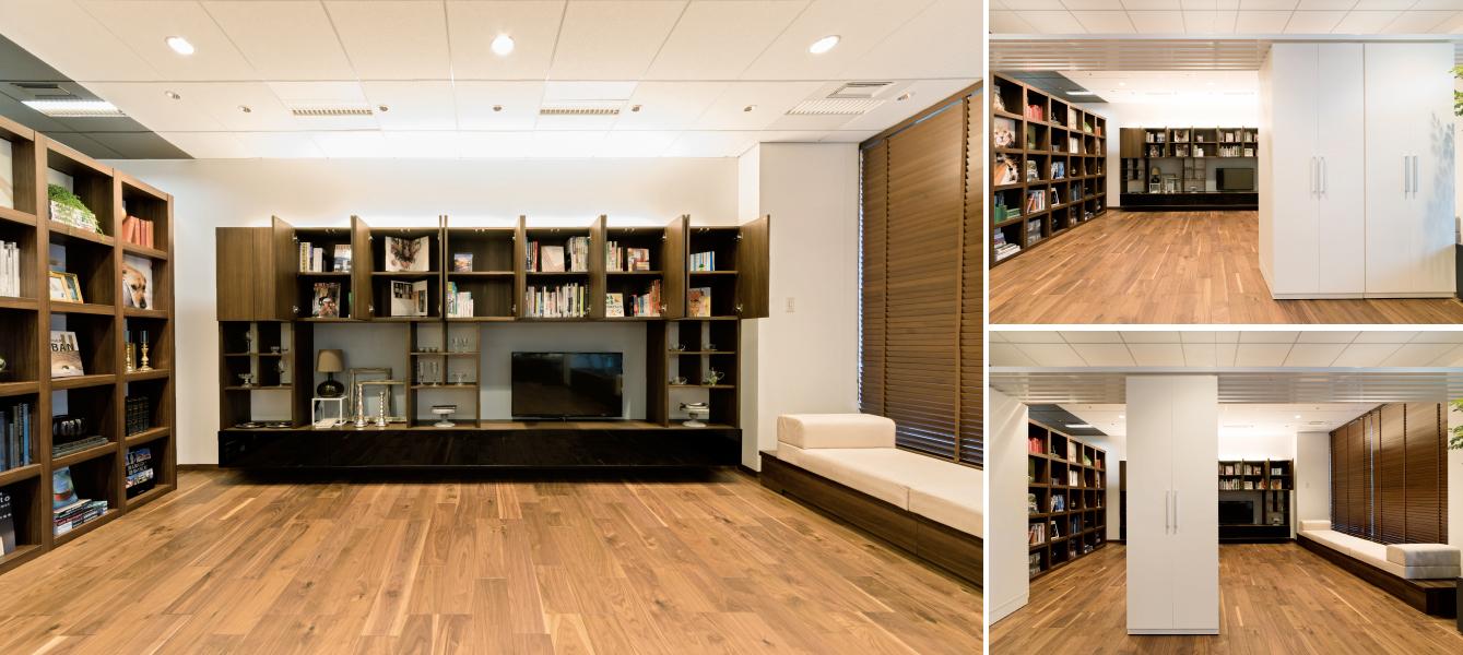 ミサワホーム株式会社が運営するショールーム、「住まいるりんぐ名古屋」の設計、内装、VMD