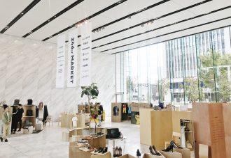 総合ファッショングループ、株式会社ワールドが開催した POP-UP型百貨店「246st MARKET」の内覧画像