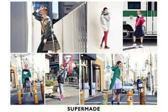 株式会社ワールドストアパートナーズが展開するリメイクブランド「SUPERMADE (スーパーメイド)」の商品画像