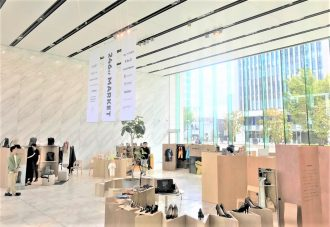 総合ファッショングループ、株式会社ワールドが開催した POP-UP型イベント「246st MARKET」の画像