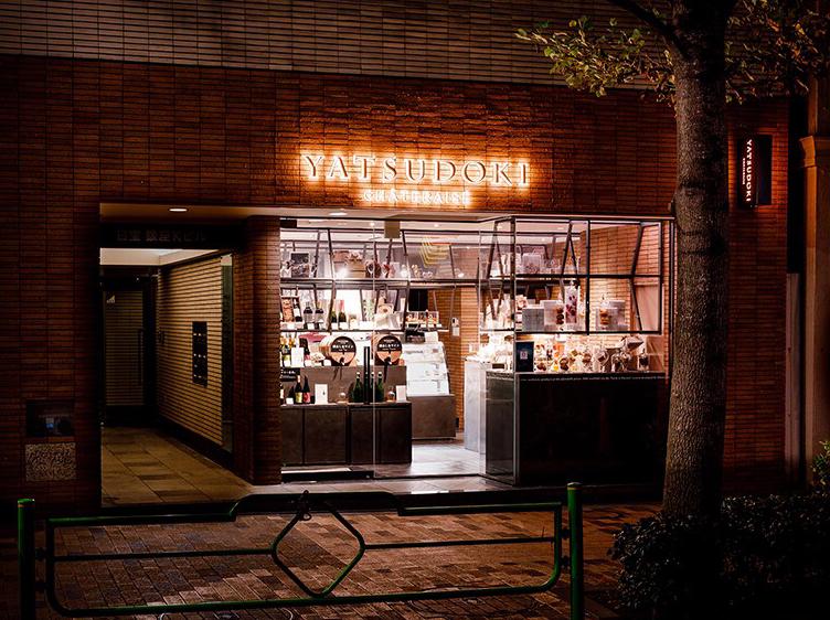 シャトレーゼ都心型新ブランド「YATSUDOKI(ヤツドキ)」銀座7丁目店の外観画像