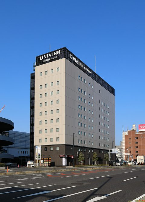 ホテル「ヴィアイン広島新幹線口」の外観画像