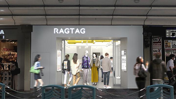 ユーズド・セレクトショップ「RAGTAG(ラグタグ)」京都路面店画像
