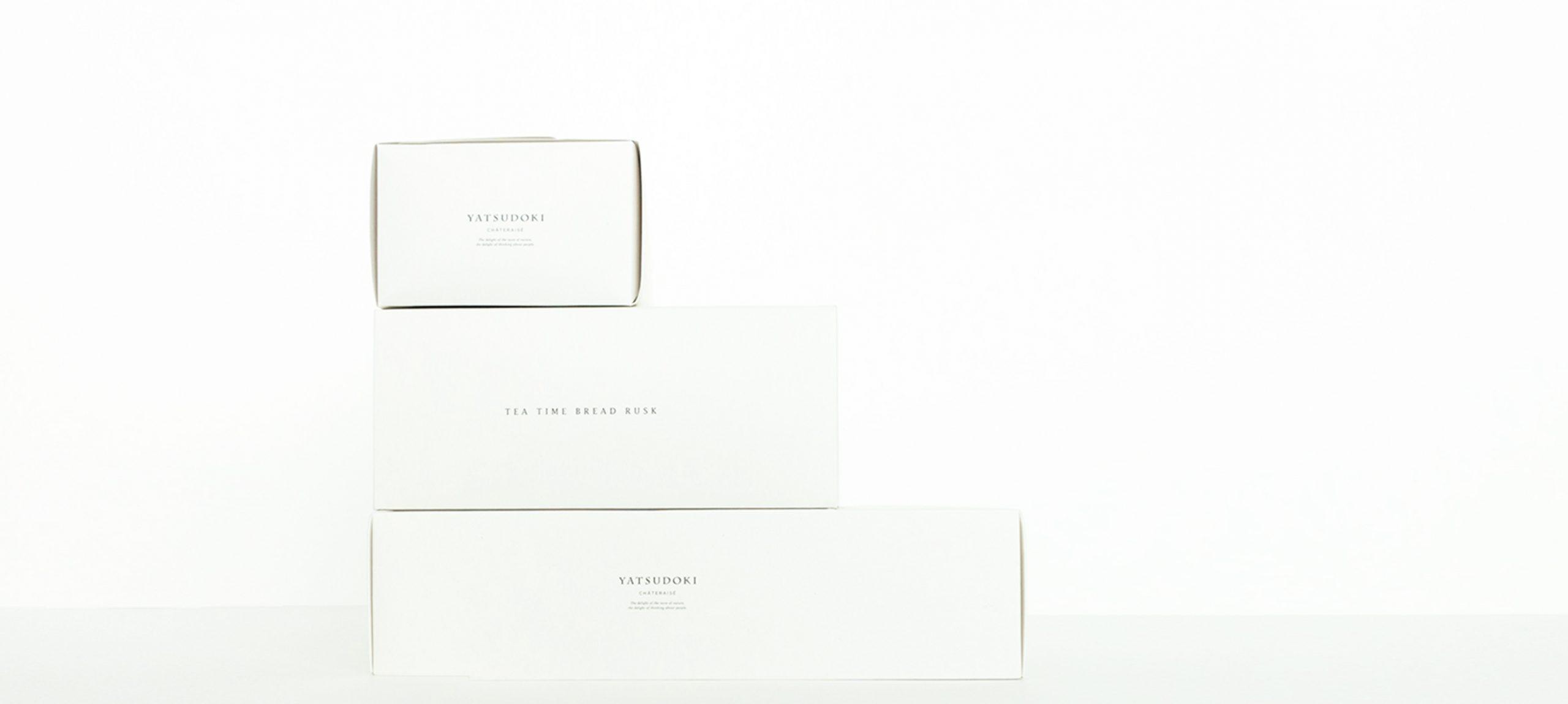 ヤツドキパッケージデザイン、バターどら焼き、ラスク、グランレシピズ、