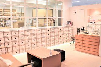 神戸レザークロス浅草オフィスに併設したカスタムオーダーハイヒールブランド「gauge (ゲージ)」のLABO画像
