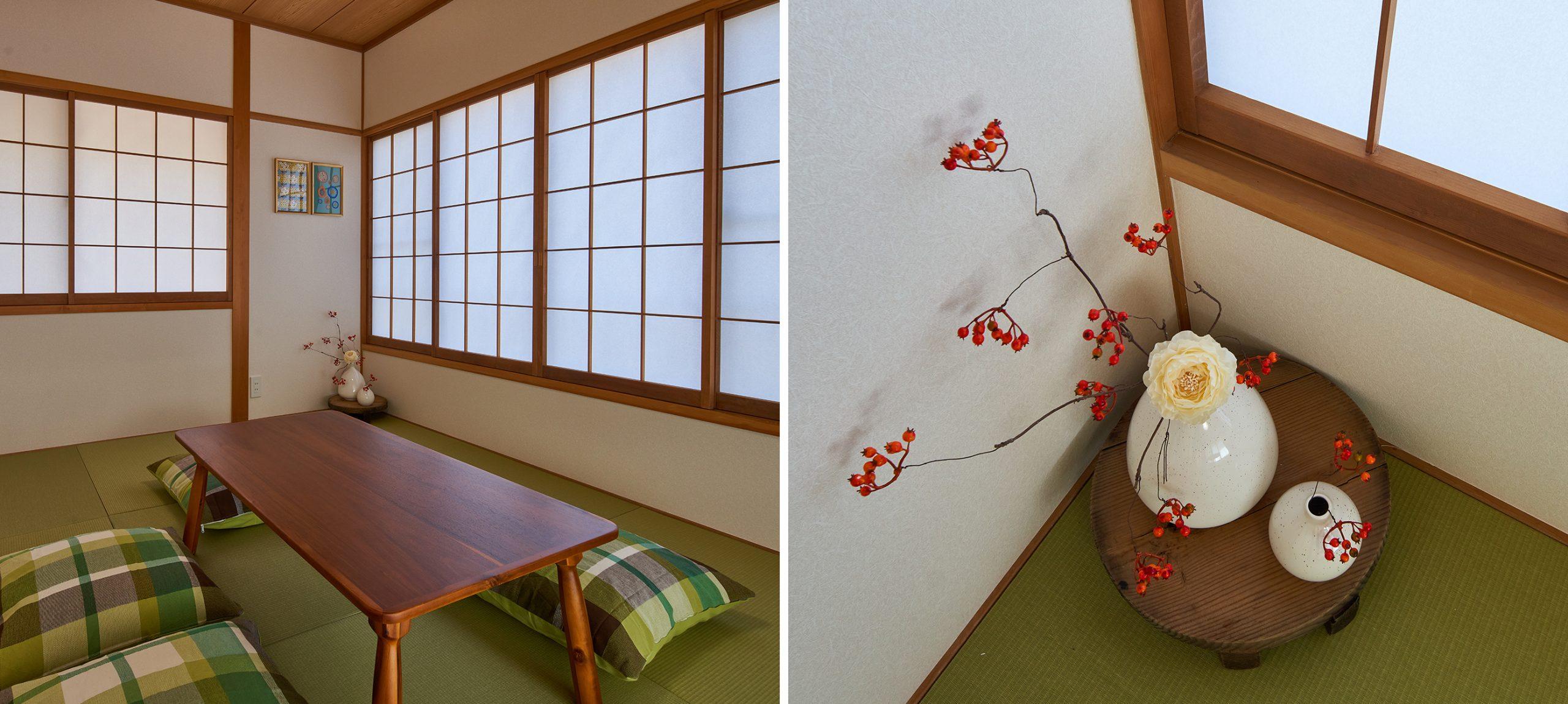 群馬県北軽井沢エリア嬬恋村にある別荘のVMD・インテリアコーディネート事例